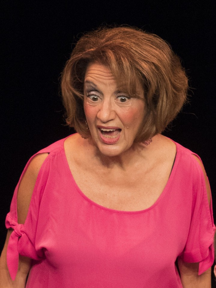 Kathryn Chesley in Ron Pantello's ten minute play, I'M DEAD WHEN I SAY I'M DEAD