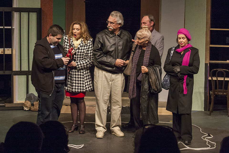 Elevate My Life by Joseph Grosso Winner of the 2014 Student Ten-Minute Playwriting Festival (Stephen Pustai, Mary Jo Johnson, Rod Rawlings,