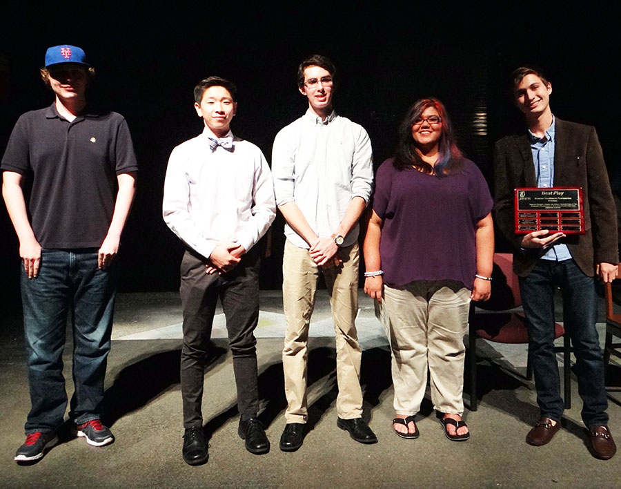 Playwrights Fourth Annual Student Ten-Minute Playwriting Festival 2016