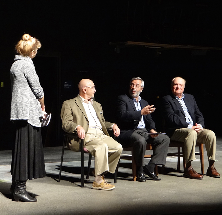 Playwright Q&A Panel 2016 Student Ten-Minute Playwriting Festival 2016