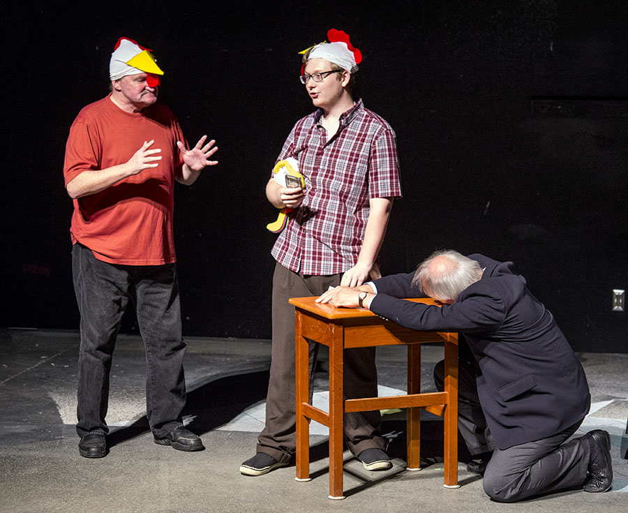 The Game of Chickens by Richard Caldwell