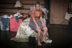 Johana Davila and Tahlia Chinault in IVY WALLS by Karen Cecilia. Directed by India Marie Paul. Photo by Don Walker.