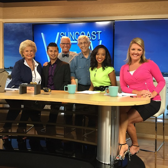 Theatre Odyssey Eleventh Annual Ten-Minute Play Festival, Tenth Festival winner Arthur Keyser and Director Bob Trisolini featured on ABC Suncoast View May 2, 2016