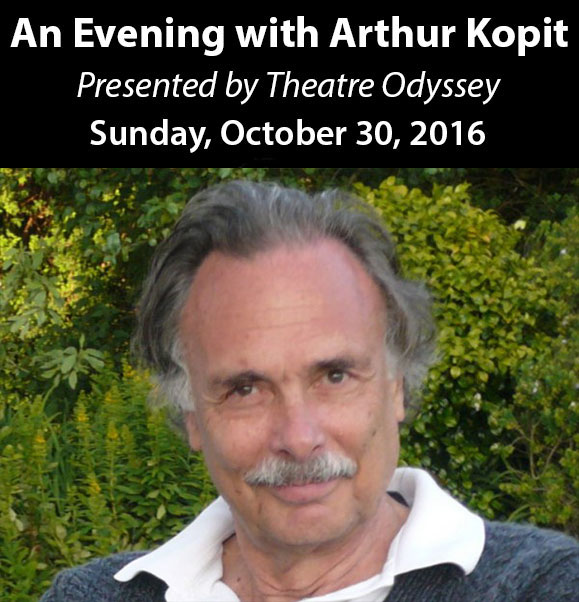 SAVE THE DATE: AN EVENING WITH ARTHUR KOPIT