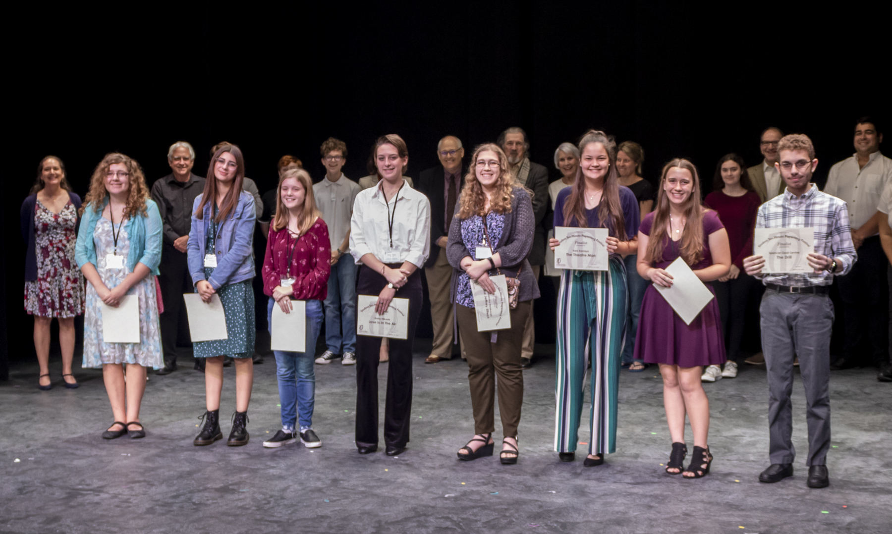 2020 Student Playwrights