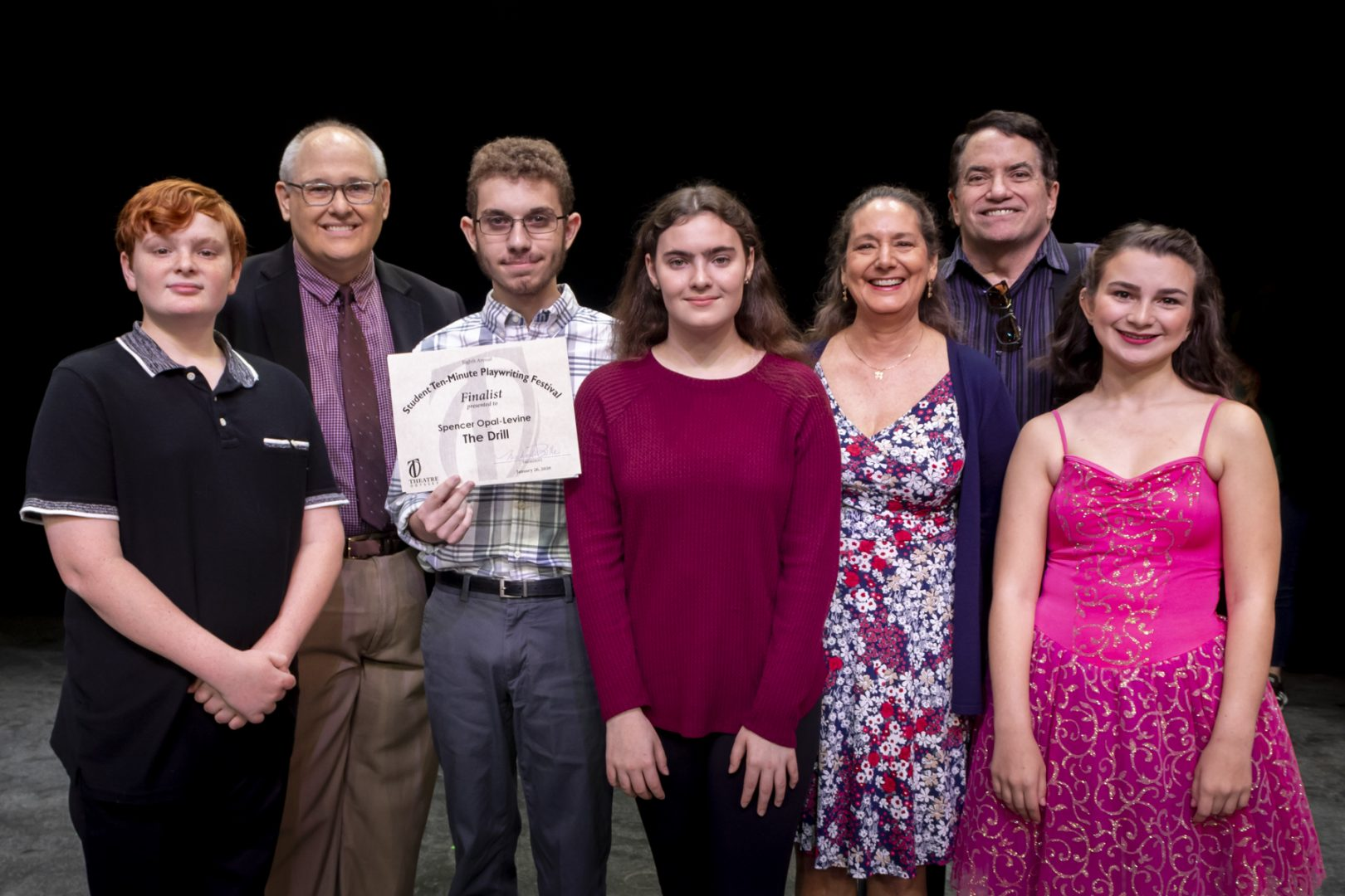 2020 Student Runner-Up Cast The Drill